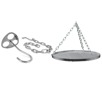 Petromax Petromax D-Ring Tripod Plate with Hook and Chain / Grid Deal