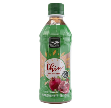 Tropical Tropical Chia Seed Drink Pomegranate