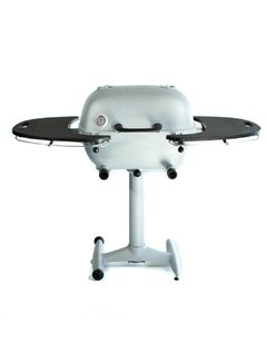 PK Grill PK360 Grill & Smoker Silver with PVC side tables