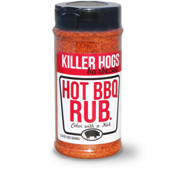 Killer Hogs Killer Hogs Championship The HOT BBQ Rub 16 oz