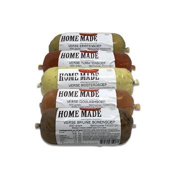Home Made Ambachtelijke Verse Soep Proeverij 5 x 500 gram
