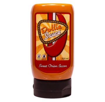 Dollie Sauce Dollie Sauce Sweet Onion Bacon 300 ml