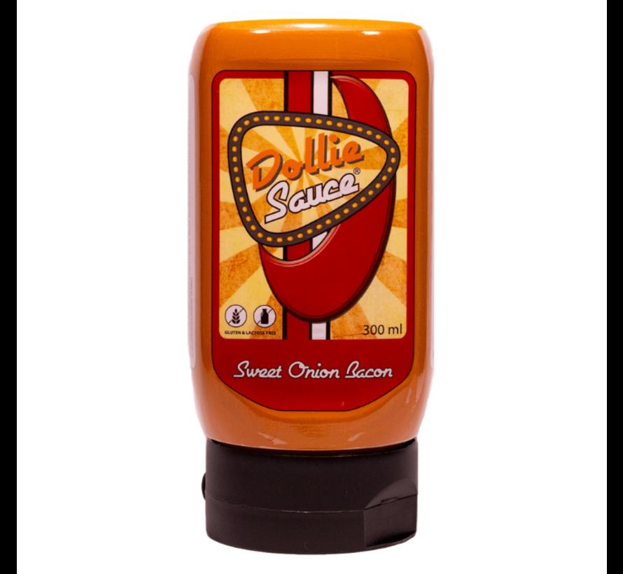 Dollie Sauce Sweet Onion Bacon Knijpfles 300 ml