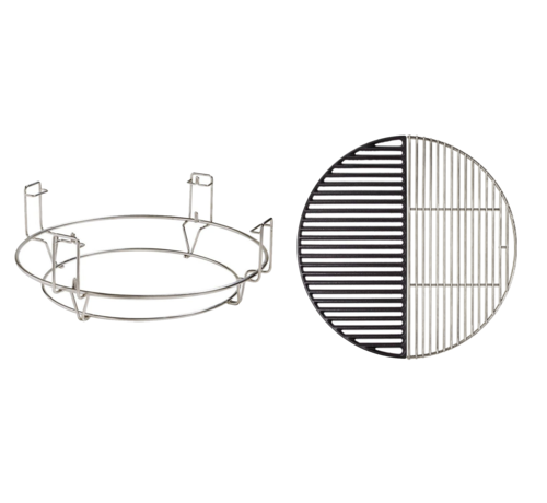 Kamado Joe Kamado Joe Diver & Conquer Systeem / RVS  / Gietijzeren Rooster Deal