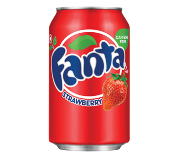 Fanta Fanta Strawberry 355 ml