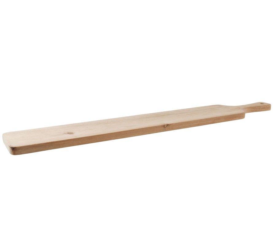 Teak Houten Snijplank 1 meter