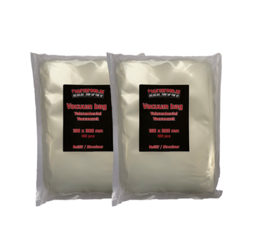 Vuur&Rook Vuur&Rook Relief / Structure Vacuum Bag 150 x 200 mm 2 x 100 pieces Deal