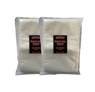 Vuur&Rook Vuur&Rook Relief / Structure Vacuum Bag 200 x 300 mm 2 x 100 pieces Deal