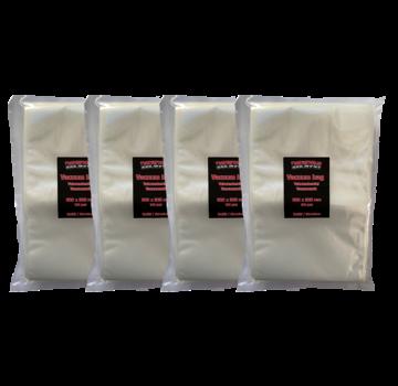 Vuur&Rook Vuur&Rook Relief / Structure Vacuum Bag 200 x 300 mm 4 x 100 pieces Deal