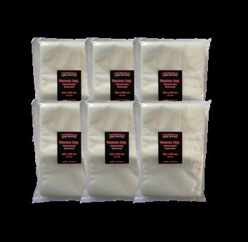 Vuur&Rook Vuur&Rook Relief / Structure Vacuum Bag 200 x 300 mm 6 x 100 pieces Deal