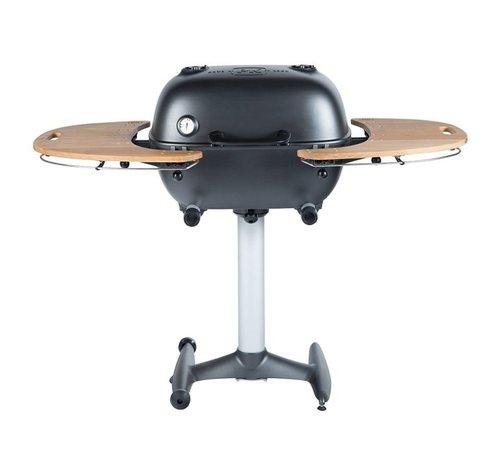 PK Grill PK360 Grill & Smoker Graphite met Teakhouten Zijtafels