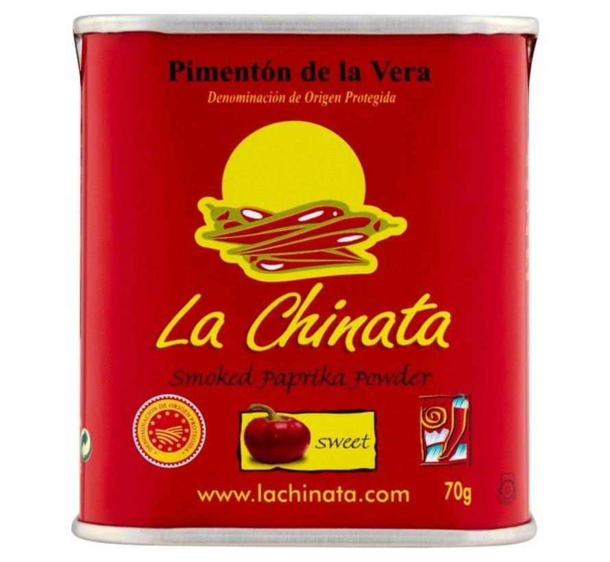 La Chinata Gerookt Paprikapoeder Sweet 70 gram