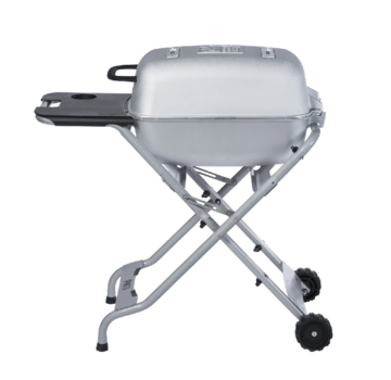 PK Grill PKTX Folding Stand for Original PK Grill + Smoker Classic Silver (New Big Handle)