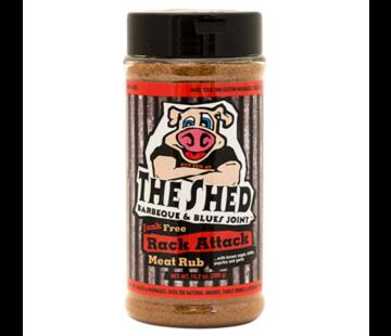 The Shedd The Shedd BBQ Rack Attack Meat Rub 10.2oz