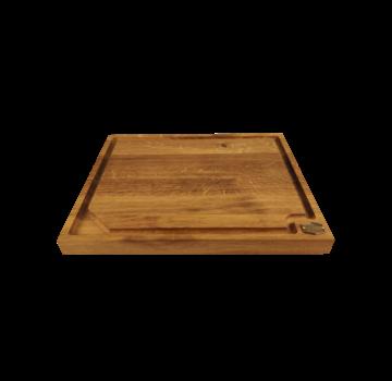 Vuur&Rook Oak Wooden Cutting Board 49 x 40 x 4 cm