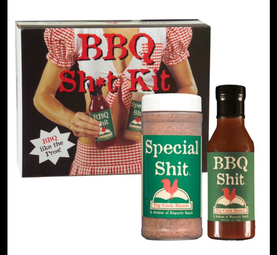 Big Cock Ranch BBQ Shit Kit