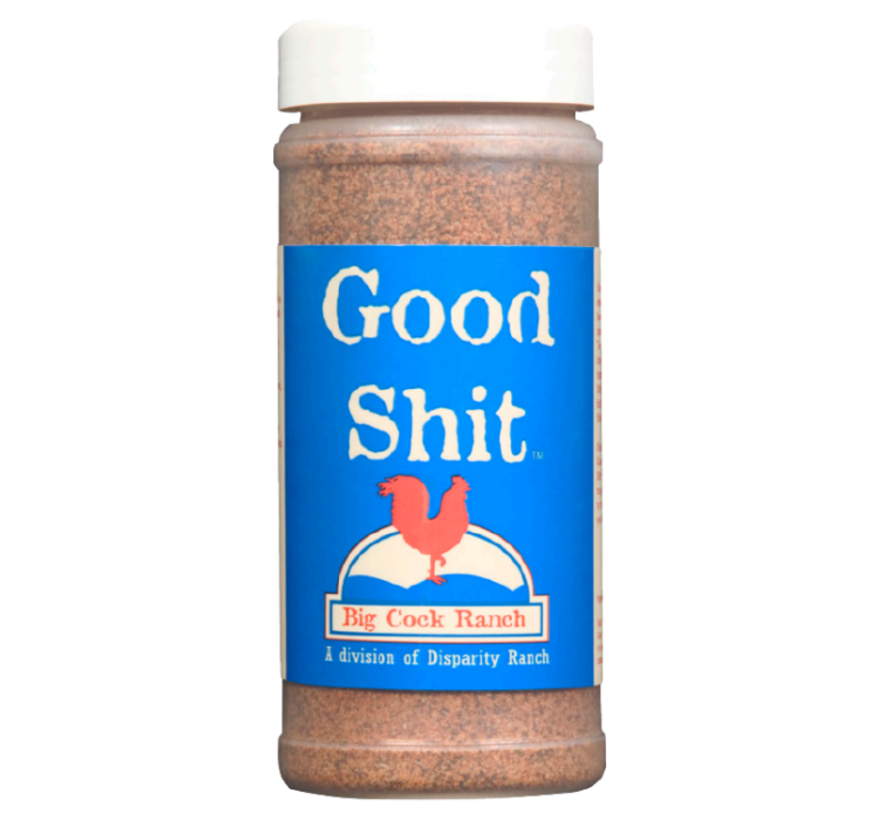 Big Cock Ranch Good Shit Sweet n' Salty Seasoning 11oz