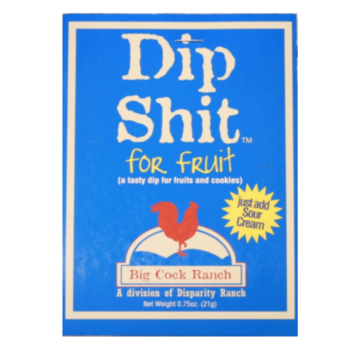 Special Shit Big Cock Ranch Dip Shit For Fruit