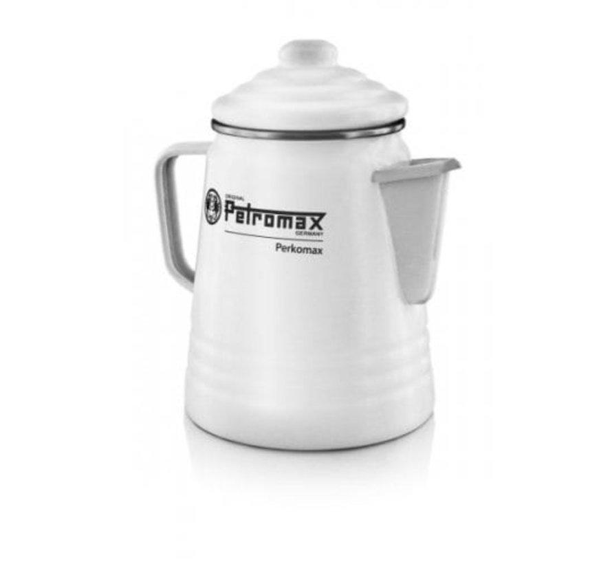 Petromax Perkomax 1,5 liter / 9 kopjes Wit