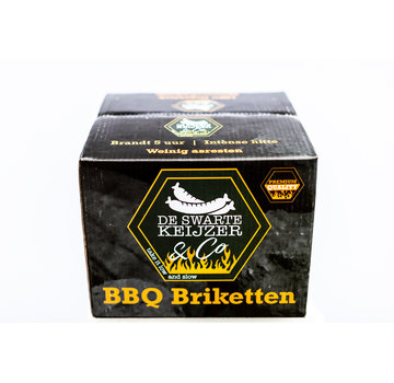 De Swarte Keiijzer De Swarte Keijzer & Co Premium Quality BBQ Briketten 10 kg