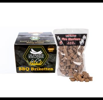 De Swarte Keiijzer De Swarte Keijzer & Co Premium Quality BBQ Briquettes / Firelighters Deal 10 kg