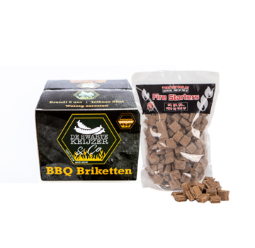 De Swarte Keijzer & Co De Swarte Keijzer & Co Premium Quality BBQ Briquettes / Firelighters Deal 10 kg
