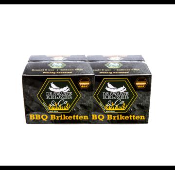 De Swarte Keijzer & Co De Swarte Keijzer & Co Premium Quality BBQ Briketten 2 x 10 kg Deal