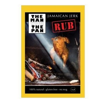 The Man With The Man Sorry We Lost The Date...The Man With The Pan Jamaican Jerk Rub 30 gram