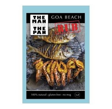 The Man With The Man Sorry We Lost The Date...The Man With The Pan Goa Beach Rub 30 gram