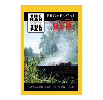 The Man With The Man Sorry We Lost The  Date...The Man With The Pan Provencaalse Rub 30 gram