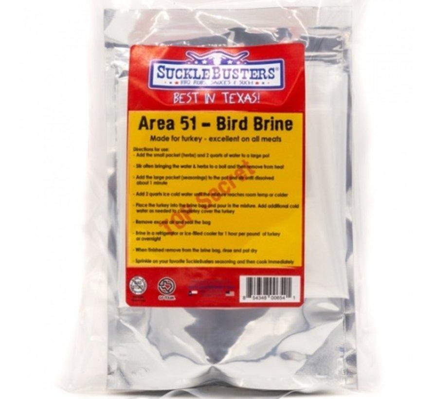 SuckleBusters Bird Brine Kit for Turkey 8 oz