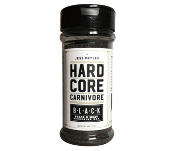 Hardcore Carnivore Hardcore Carnivore Black BBQ Rub 6.25oz