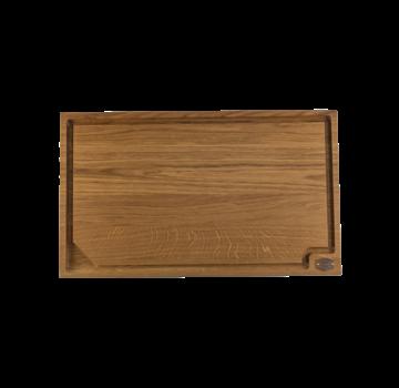 Vuur&Rook Baasboards Eiken Houten Snijplank 65 x 40 x 4 cm