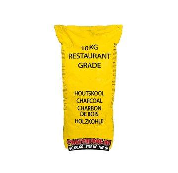Vuur&Rook Transport Damage Horeca South African Restaurant Grade Lump Charcoal 100% Black Wattle 10 kg