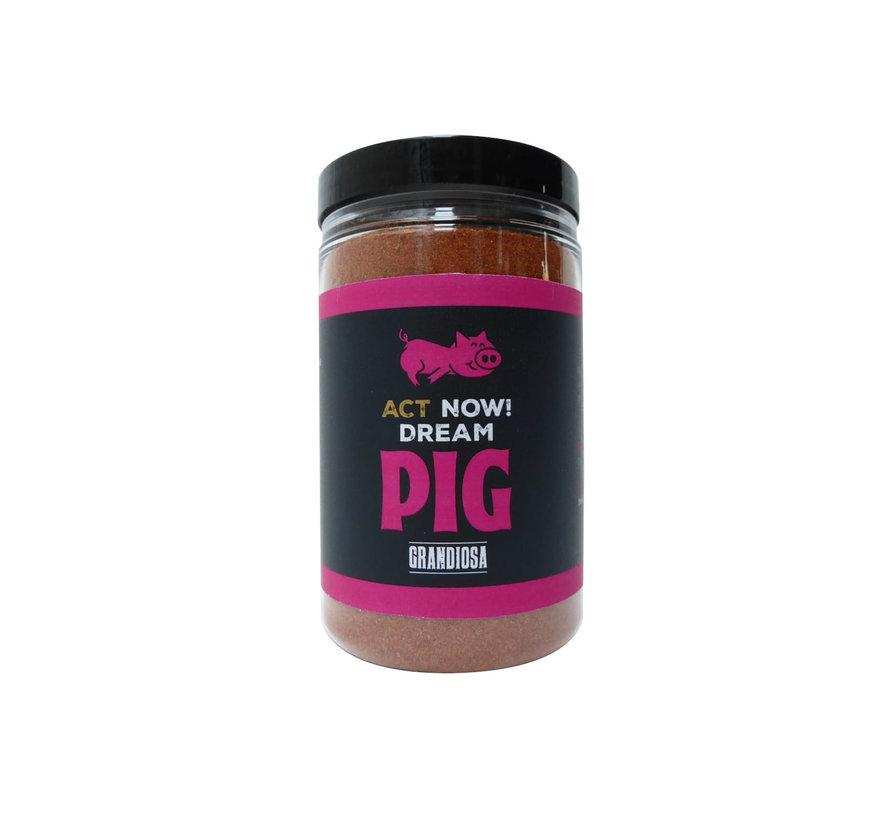 Grandiosa Act Now Dream Pig BBQ Rub 275 gram