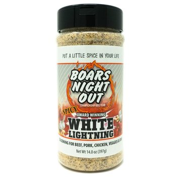 Boars Night Out Boars Night Out Spicy White Lightning 14 oz