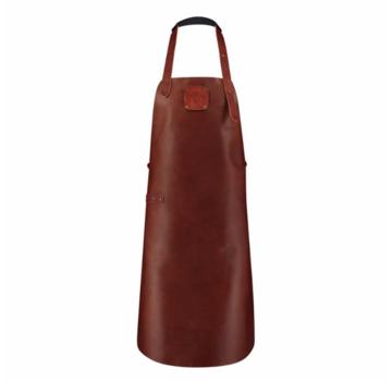 Witloft Witloft Cognac/Cognac Leren Schort Classic Collection