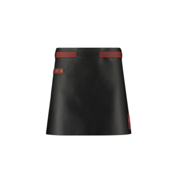 Witloft Witloft Pure Black/Congac Leather Apron Short Waist Down Leather Collection