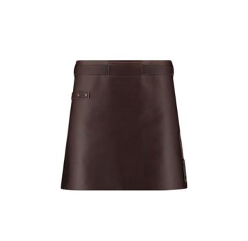 Witloft Witloft Dark Brown/Dark Brown Leather Apron Short Waist Down Leather Collection