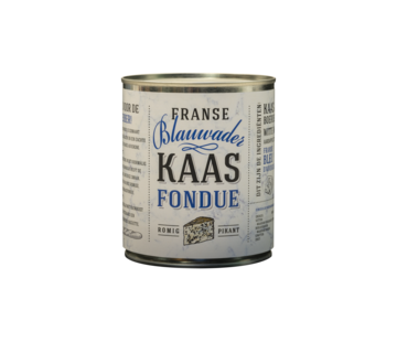 Kaasfondue Blauw Ader Kaasfondue 750 gram