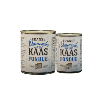 Kaasfondue Blue Vein Cheese Fondue Deal 750 + 400 Gramm