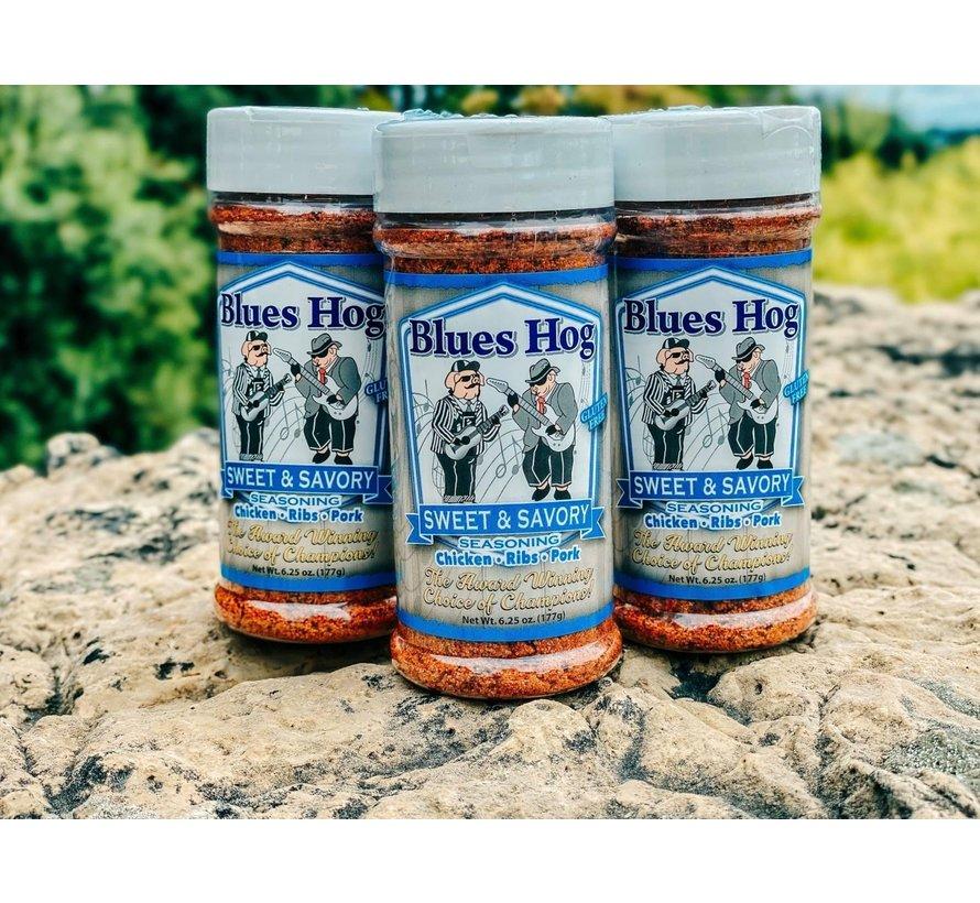 Blues Hog Sweet&Savory BBQ Rub 6.25oz