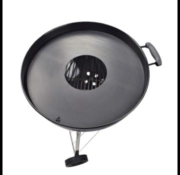 Vuur&Rook Stalen Plancha TBV Kettle BBQ 57 cm