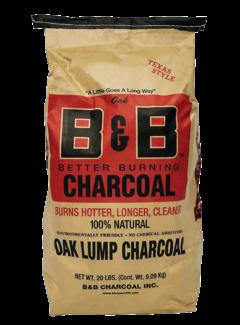 B&B B&B Oak Lump Charcoal 9 kg