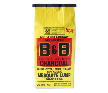 B&B B&B Mesquite Lump Charcoal 9 kg