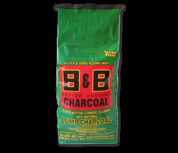 B&B B&B Hickory Lump Charcoal 9 kg