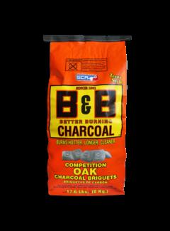 B&B B&B Oak Briquettes 8 kg
