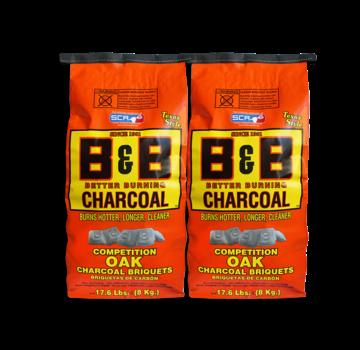 B&B B&B Oak Briquettes 2 x 8 kg Deal