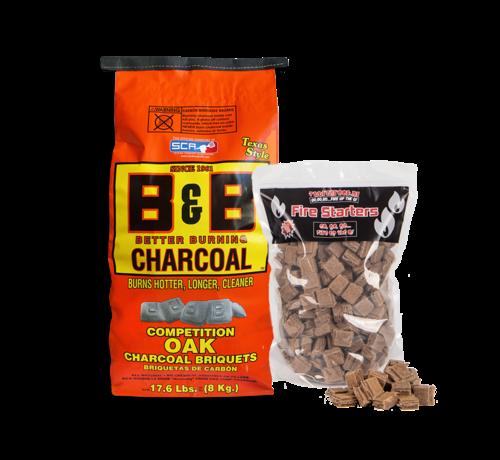 B&B B&B Oak Briquettes 8 kg / Aanmaakblokjes Deal