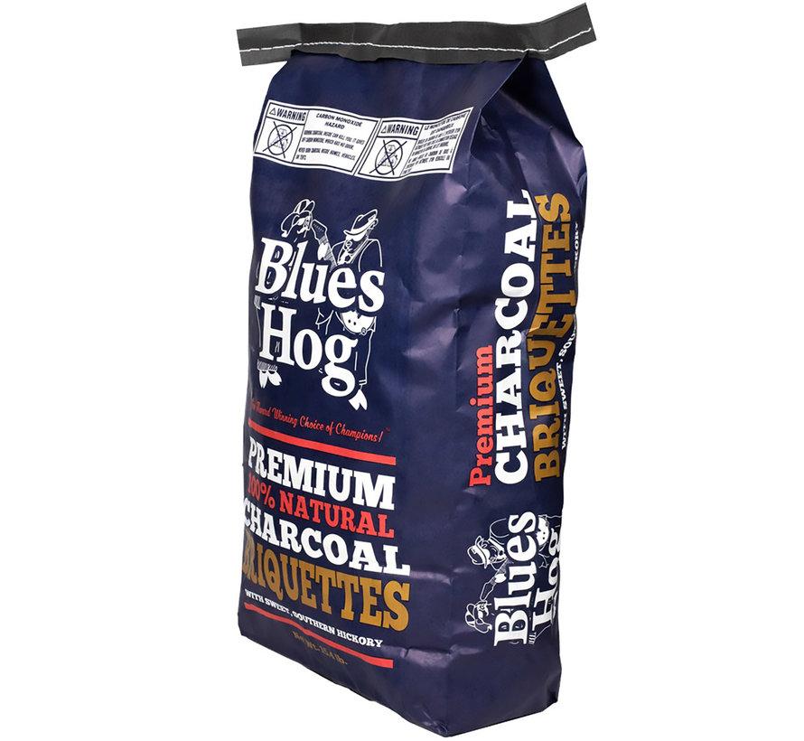 Blues Hog All Natural Hardwood Charcoal Briquettes 7 kg / Wokkels Deal